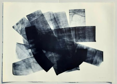 Lithographie Hartung - L-18-1973