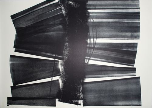 Lithographie Hartung - L-20-1974
