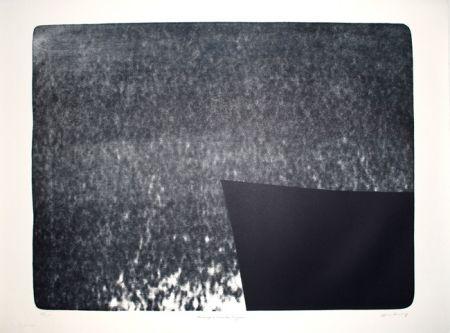 Linogravure Hartung - L-25 - Hommage à Eva Bergman