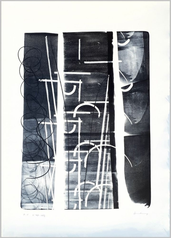 Lithographie Hartung - L-49-1973