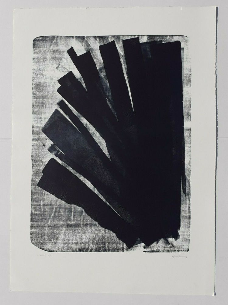Lithographie Hartung - L-58-1973