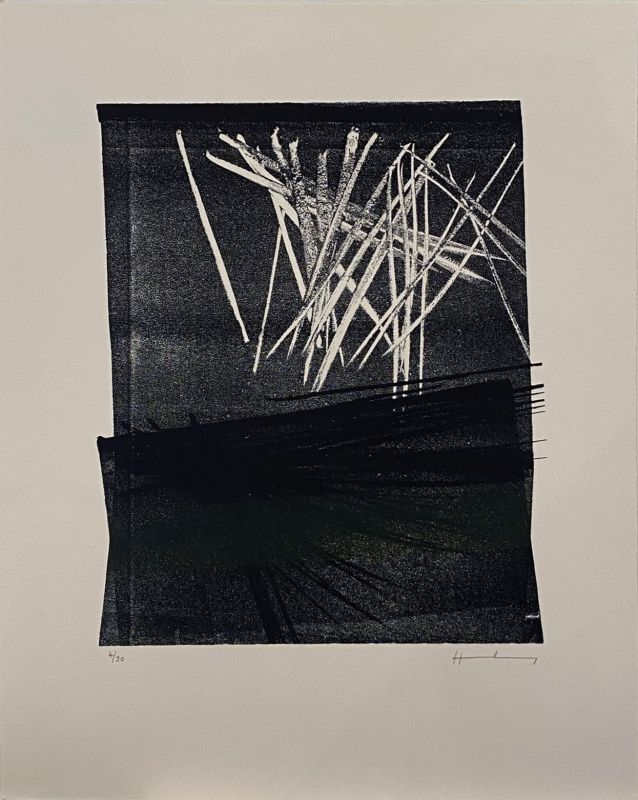 Lithographie Hartung - L1977-13