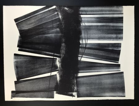 Lithographie Hartung - L - 1974 - 21