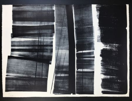 Lithographie Hartung - L - 21 - 1974