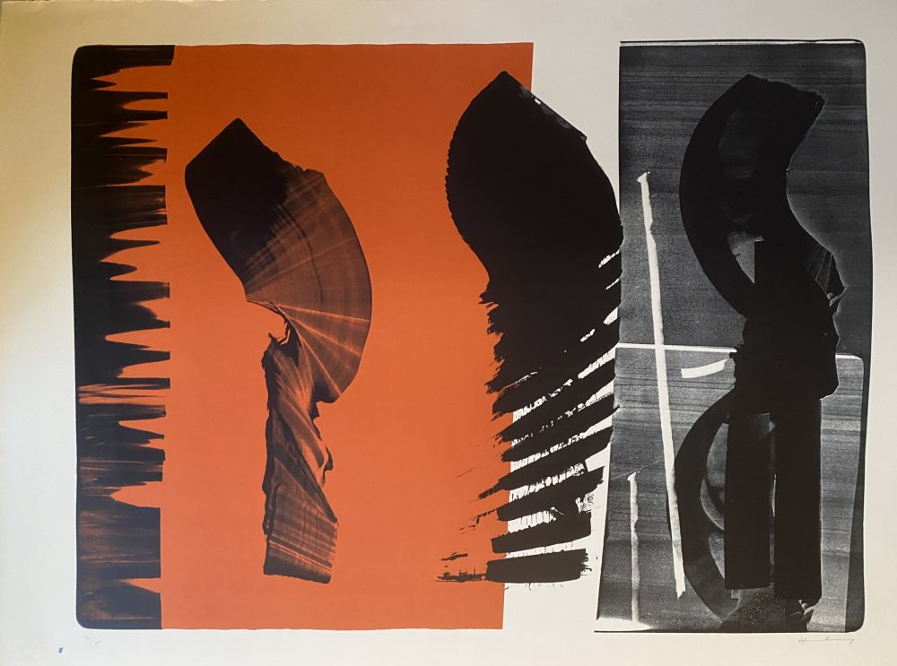 Lithographie Hartung - L 14
