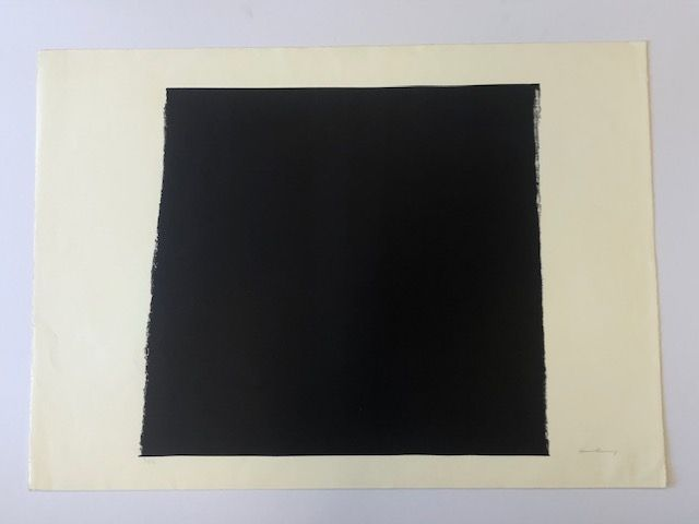 Lithographie Hartung - L 15   1973