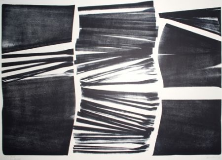 Lithographie Hartung - L 18 1974