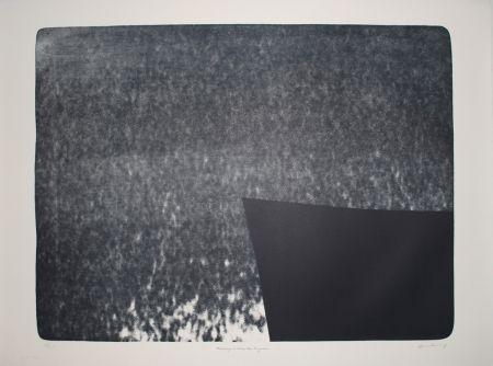 Lithographie Hartung - L 1976-25:  Hommage à Eva Bergman