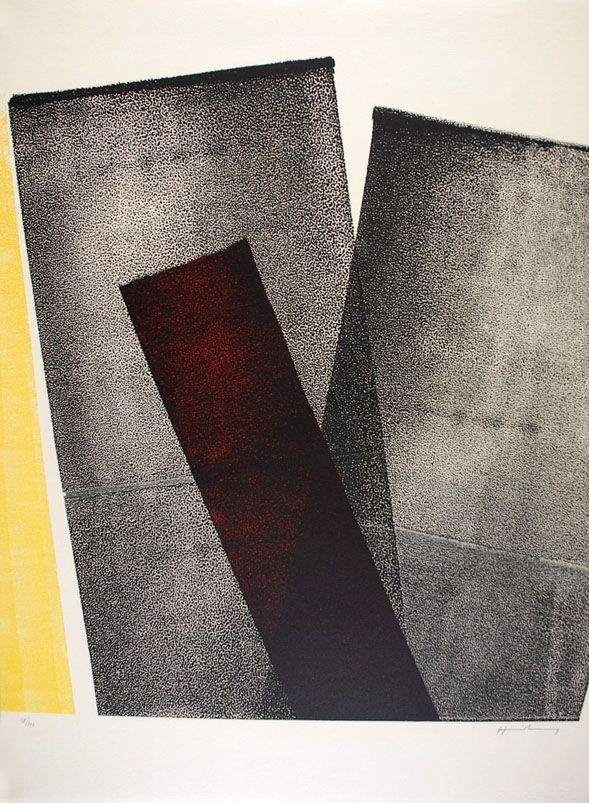 Lithographie Hartung - L 1977-10
