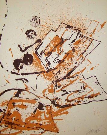 Lithographie Arman - L interieur des choses IV le fer a repasser