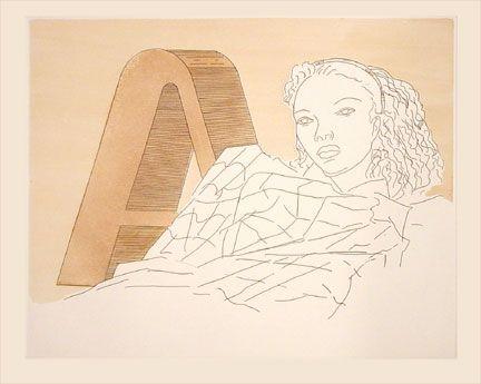Eau-Forte Et Aquatinte Ray - L'A (1971)