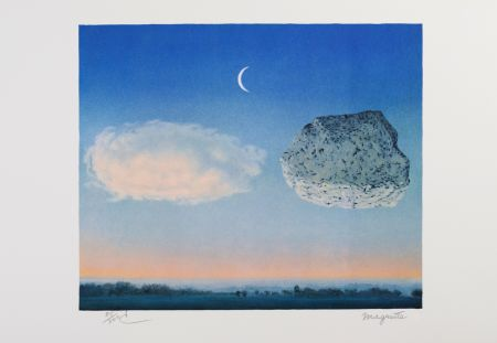 Lithographie Magritte - La Bataille De L'Argonne (The Battle Of The Argonne)