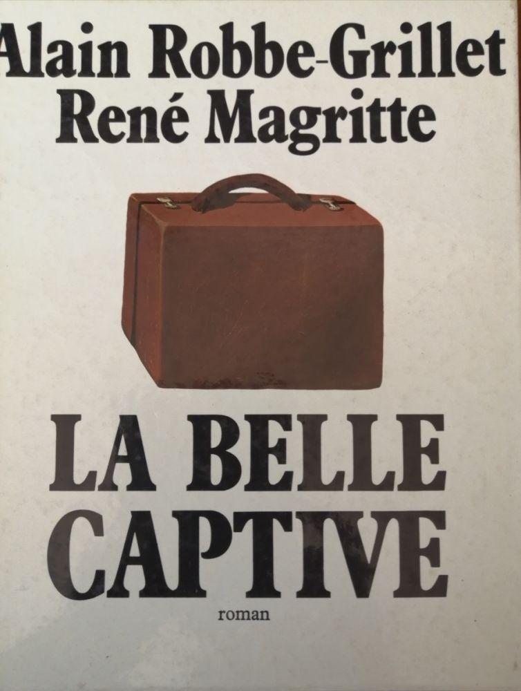 Livre Illustré Magritte - La Belle Captive - Roman