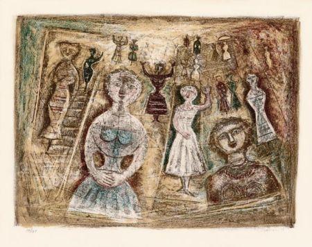 Lithographie Campigli - La Benvenuta