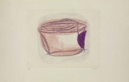 Gravure Fautrier - La boîte