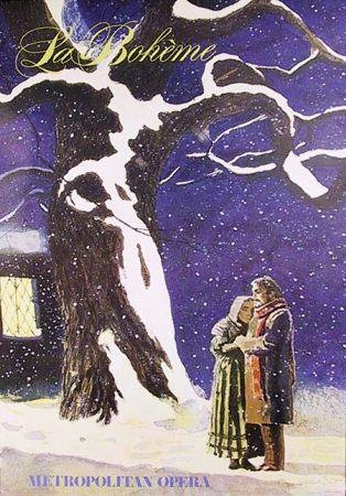Affiche Wyeth - La Boheme