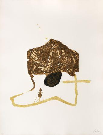 Gravure Tàpies - La Botte