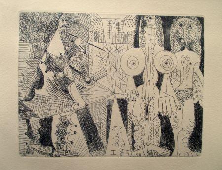 Gravure Picasso - La Célestine