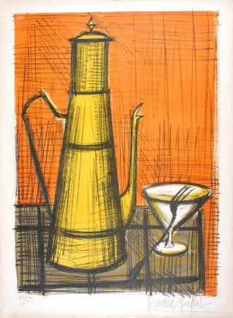 Lithographie Buffet - La Cafetière