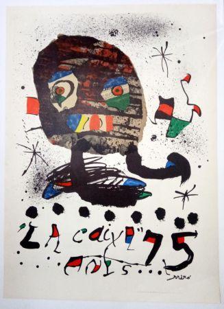 Affiche Miró - La Caixa 75 anys - 1979