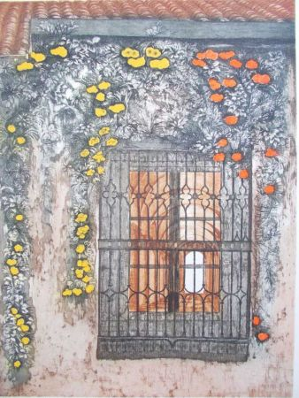 Lithographie Ayuso - La Cancela