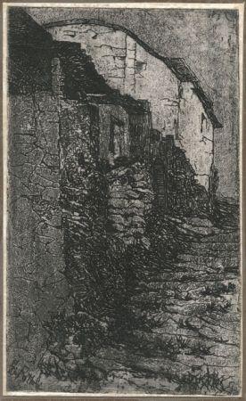 Gravure Fattori - LA CASA A BAUCO (House in Bauco)