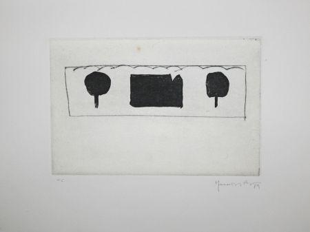 Eau-Forte Et Aquatinte Hernandez Pijuan - La casa de les moreres 1