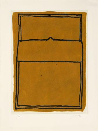 Gravure Hernandez Pijuan - La casa desde la que se divisa el campo I