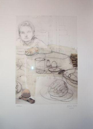 Eau-Forte López Garcia - La cena