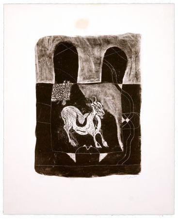 Lithographie Toledo - La Chèvre