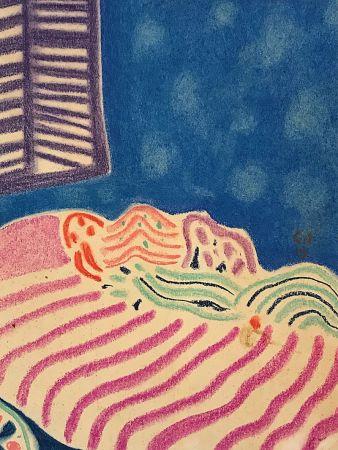 Aucune Technique Amiet - La Chambre à coucher (1919)