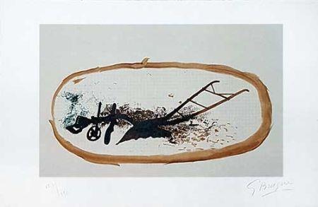 Lithographie Braque - La Charrue