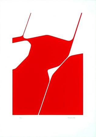 Lithographie Palazuelo - La Chaux de Fonds