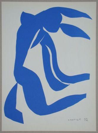 Lithographie Matisse - La Chevelure