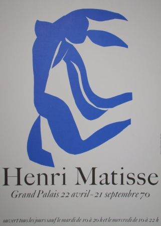 Affiche Matisse - La Chevelure - Grand Palais