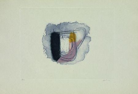 Gravure Fautrier - La chope