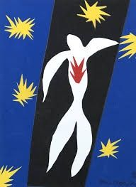 Lithographie Matisse - La chute d'Icare