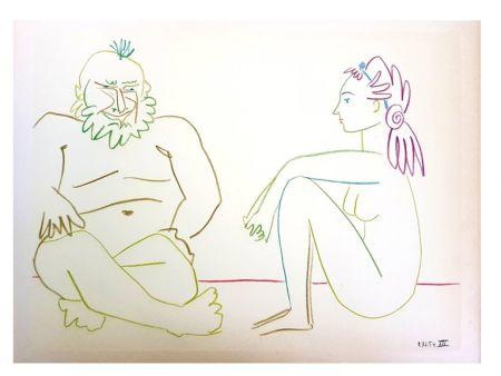 Lithographie Picasso (After) - La Comédie Humaine