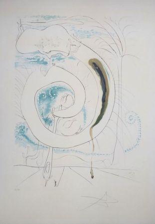 Gravure Dali - La Conquête du Cosmos