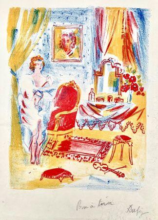 Lithographie Dufy - La Coquette
