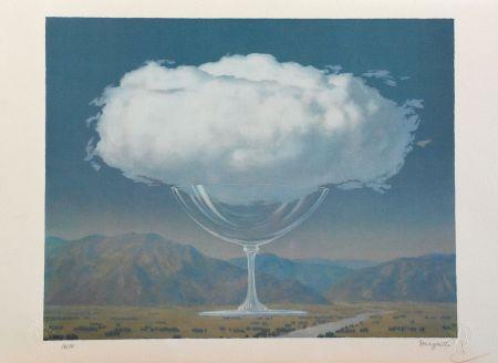 Lithographie Magritte - La Corde Sensible