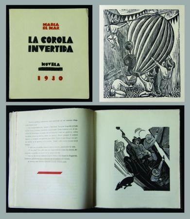 Gravure Sur Bois Mendez - La Corola Invertida - novella by Maria Del Mar