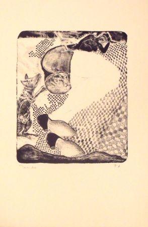 Lithographie Toledo - La Dama y el raton