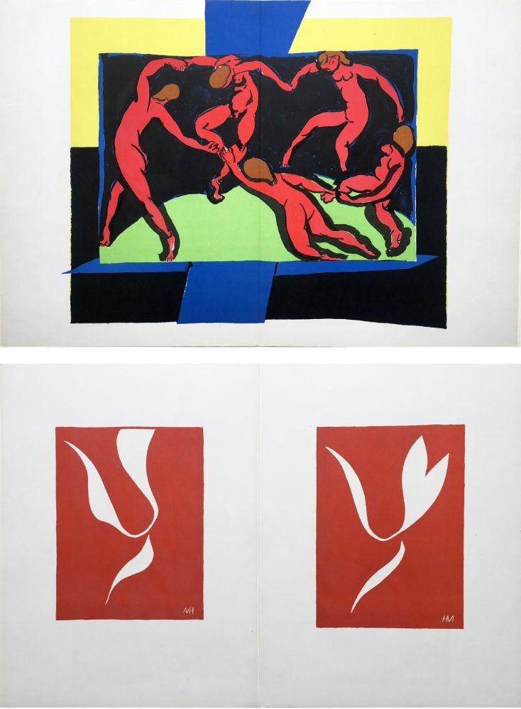 Lithographie Matisse - LA DANSE (D'après le célèbre tableau d' Henri Matisse)