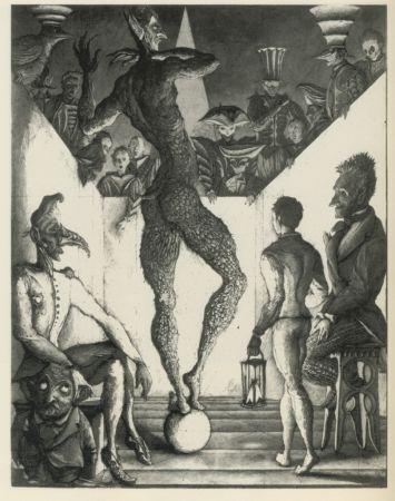 Eau-Forte Et Aquatinte Desmazières - La Danse du Diable