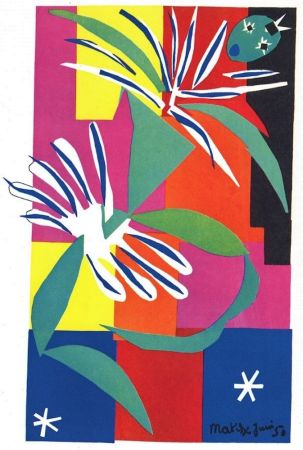 Lithographie Matisse - La Danseuse Creole