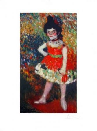 Lithographie Picasso - La Danseuse Naine