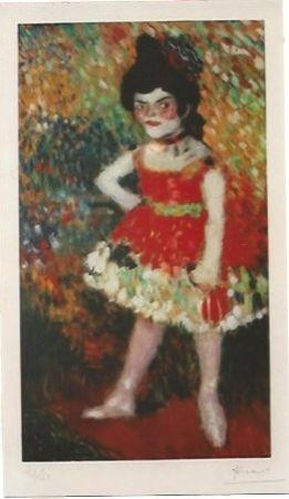 Lithographie Picasso - La Danseuse Naine (La anana)