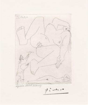 Gravure Picasso - La Demesure du Peintre
