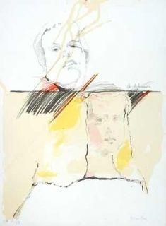 Lithographie Bru - La diferencia Velasquez